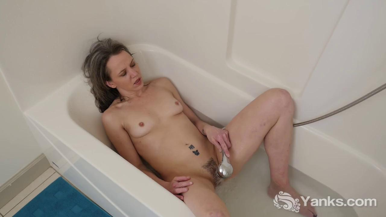 Hairy Mature Shower Solo